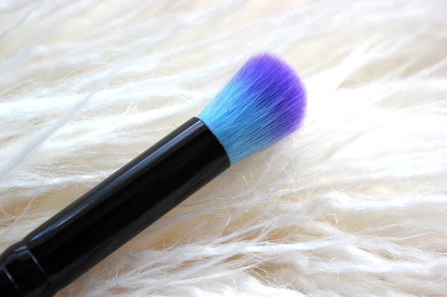 spectrum brushes angled brow brush domed contour concealer brush