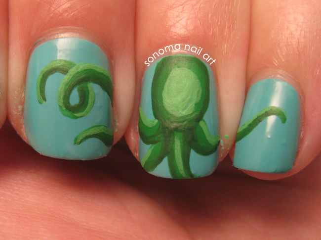 Sonoma nail art 20000 leagues under the sea thursday april 19 2012 prinsesfo Image collections