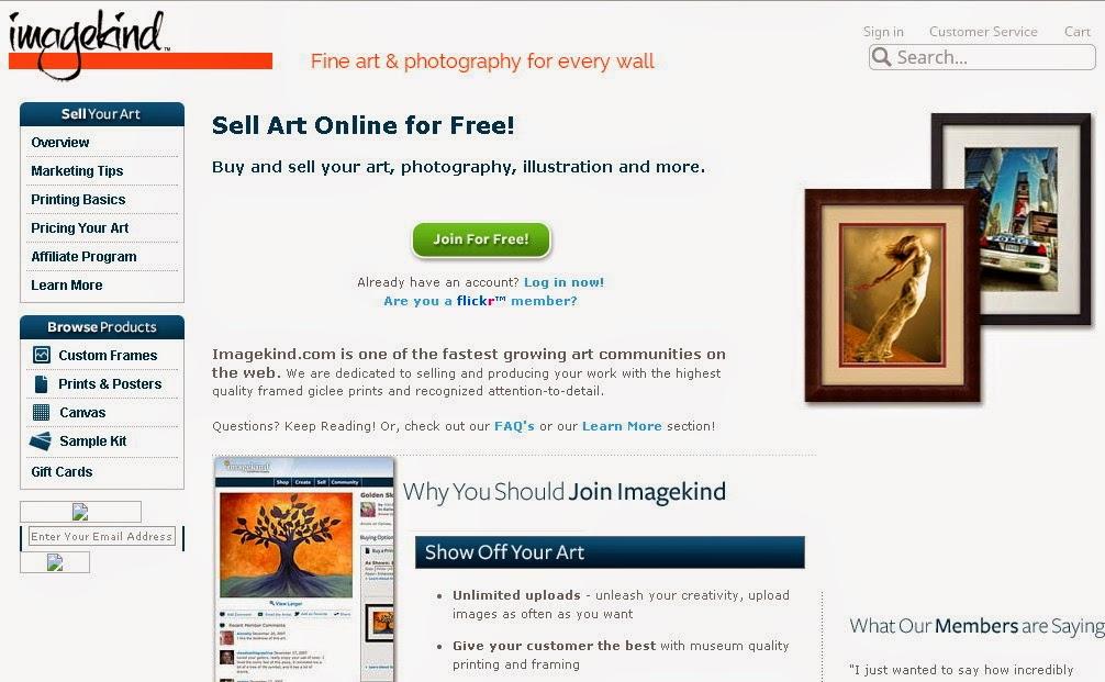 Jual Koleksi Gambar - Gambar Unik Anda  Di Situs Imagekind