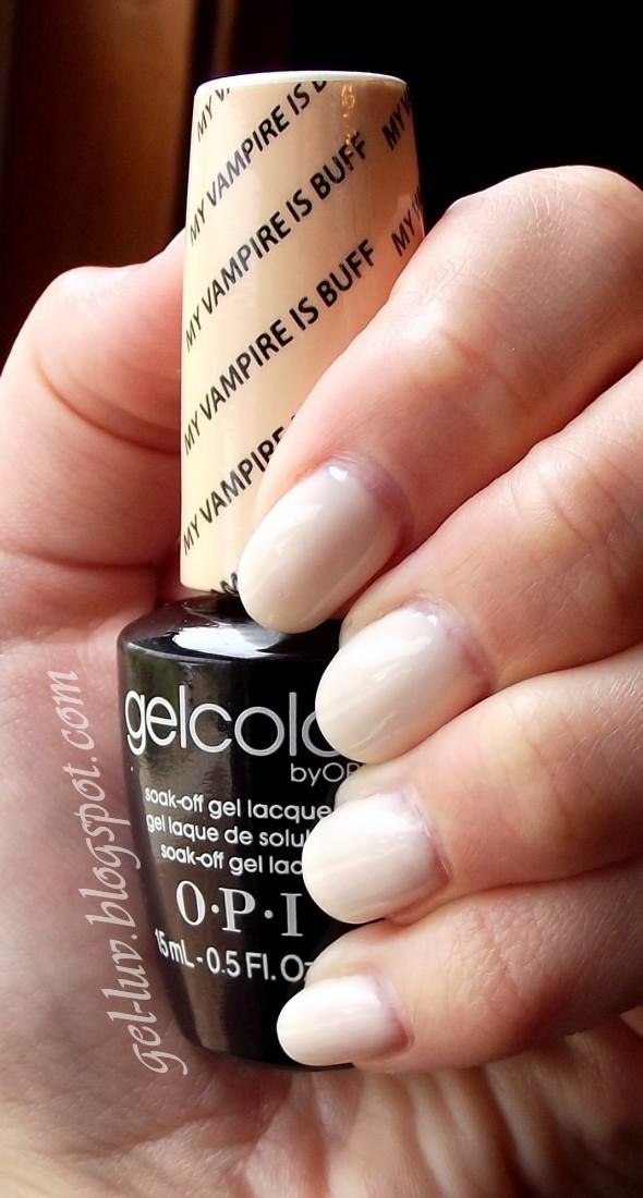 Opi Gel Nail Polish Glitter To Bend Light
