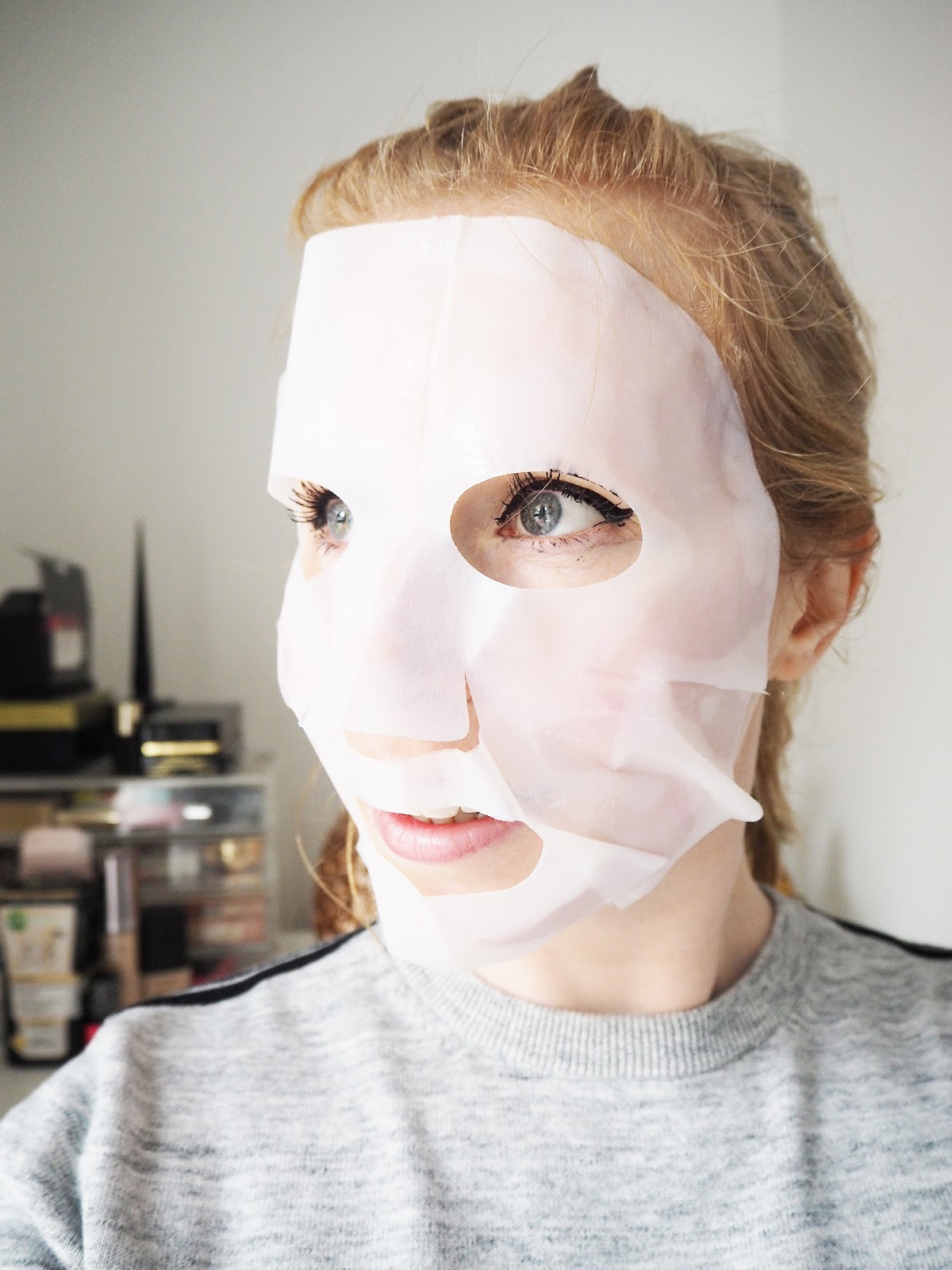 Muji DIY sheet masks