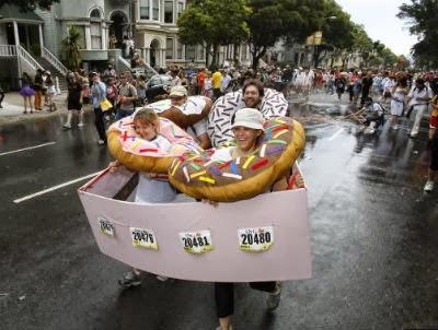 ドーナッツの仮装