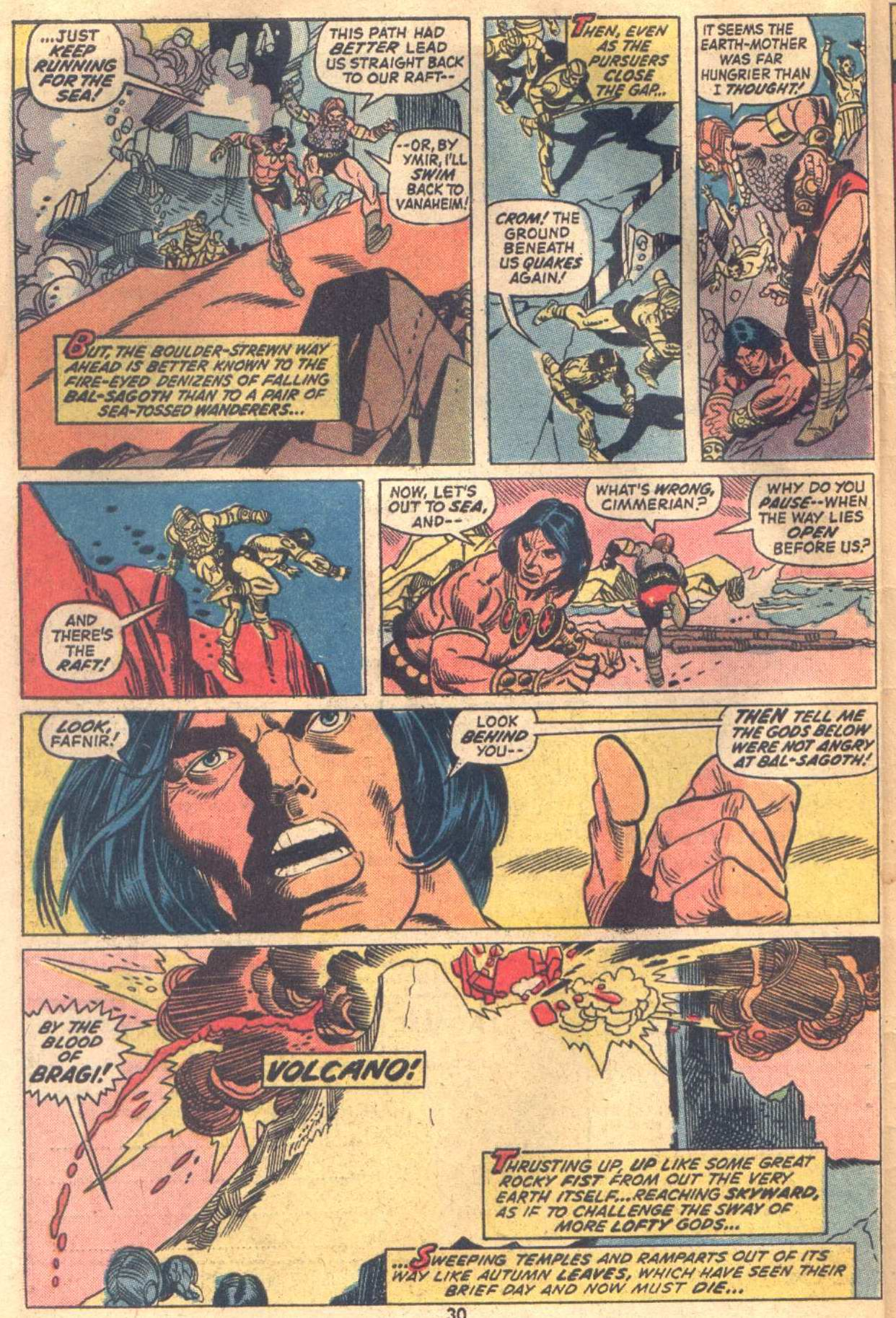 Conan the Barbarian (1970) Issue #18 #30 - English 22