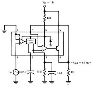 IC LM2917 Frequency to Voltage Converter