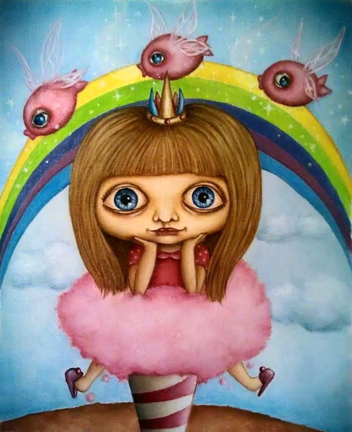 """""""Elise in candyland"""", 2014"""