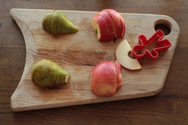 päärynäruusujen teko