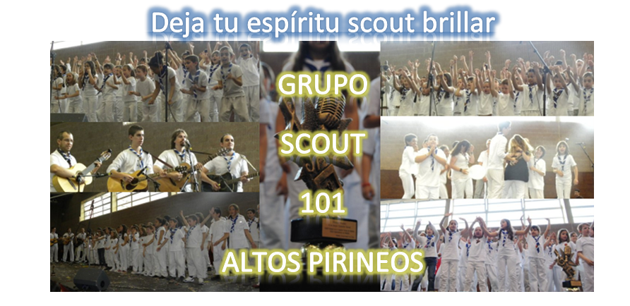 Grupo Scout Altos  Pirineos 101