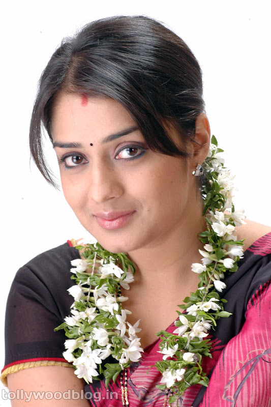 Actress Nikitha Beautiful Photos in Saree wallpapers