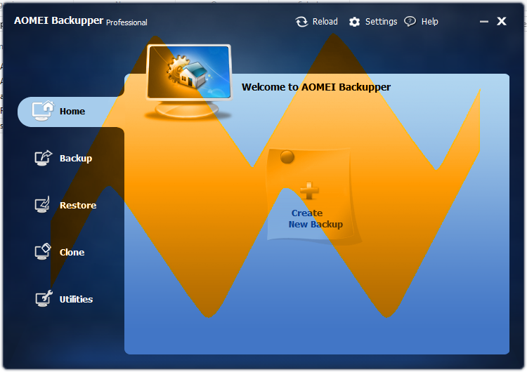 AOMEI Backupper Professional 2.1.0 Full Crack