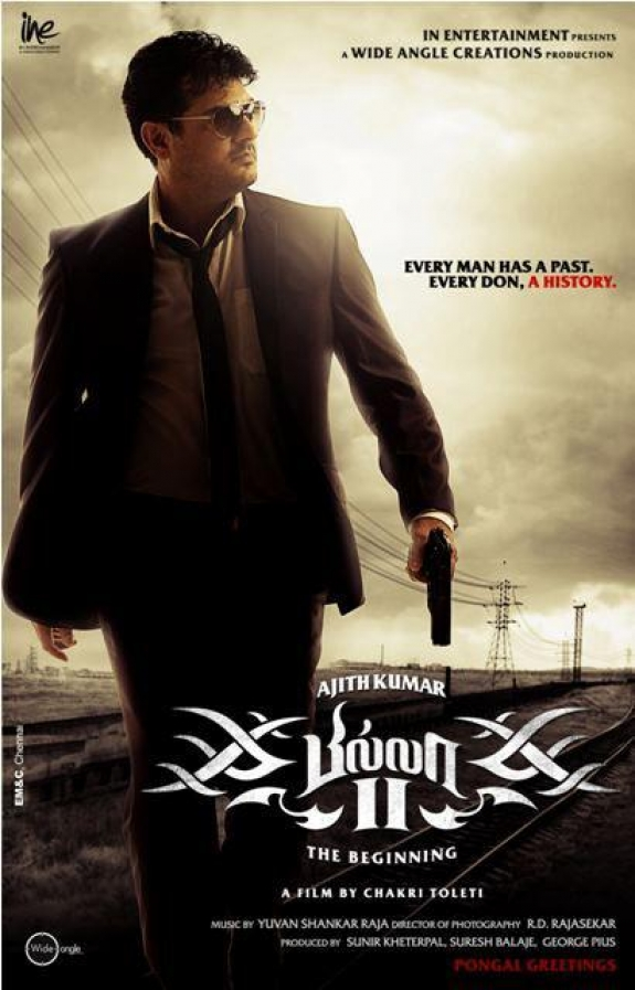 Ajith Kumar Wallpaper Billa 2