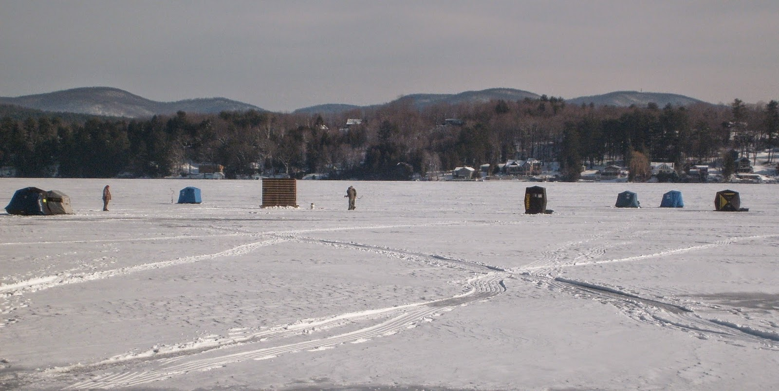 Guided Vermont Ice Fishing Trips