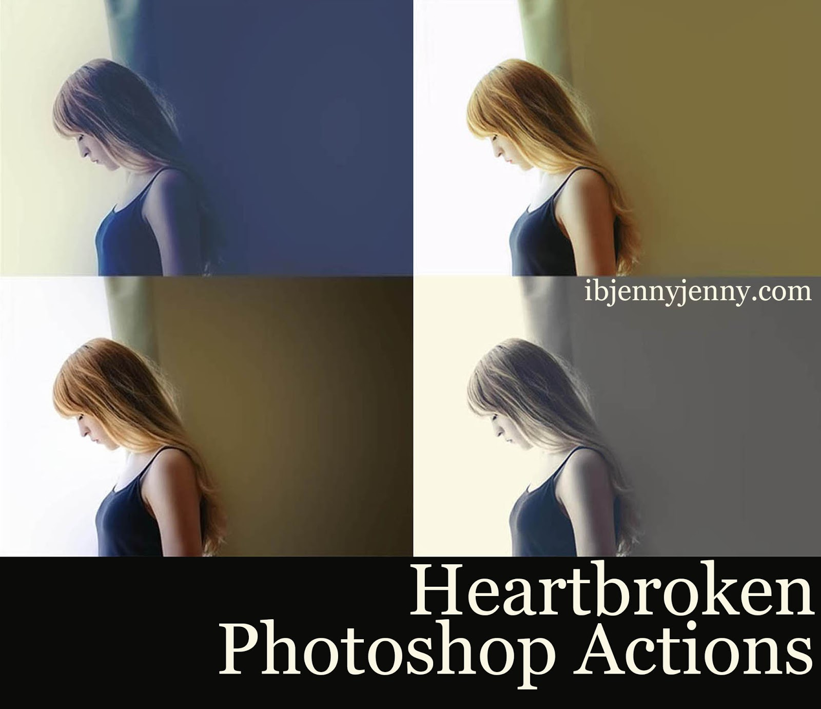 Heartbroken Photoshop Actions