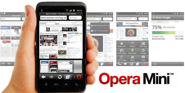 All of us know Opera fellowship has designed Opera mini for spider web browsing on mobile phones Opera Mini 7.5 Released for Fastest Browsing on Android