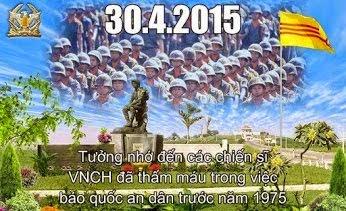 • QUỐC HẬN 30/4: KÝ ỨC 40 Năm 1975-2015