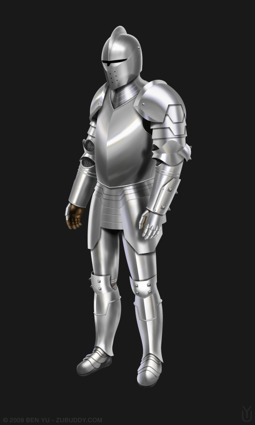 medieval armor 1 concept