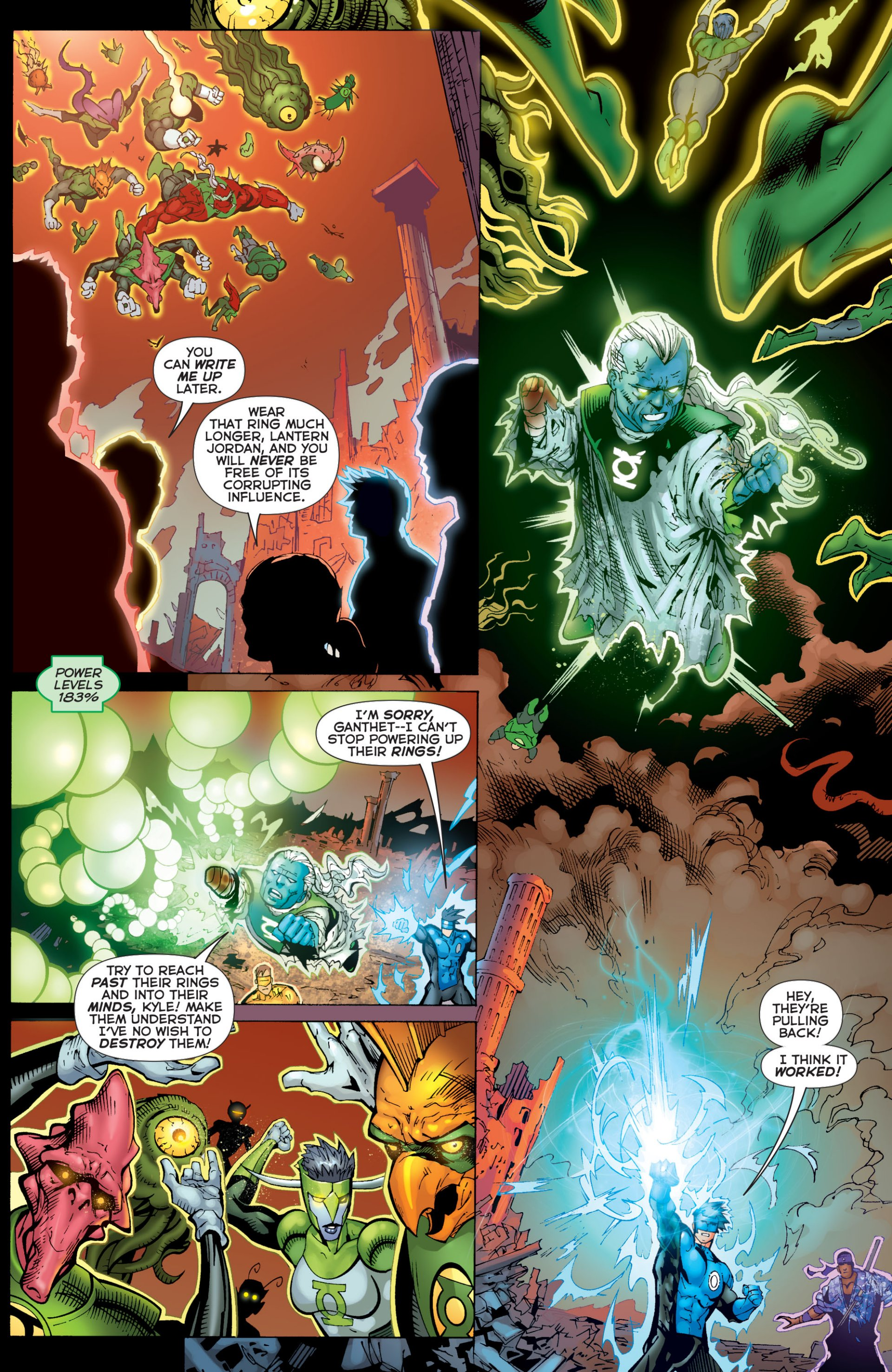Read online Green Lantern Corps (2006) comic -  Issue #59 - 16