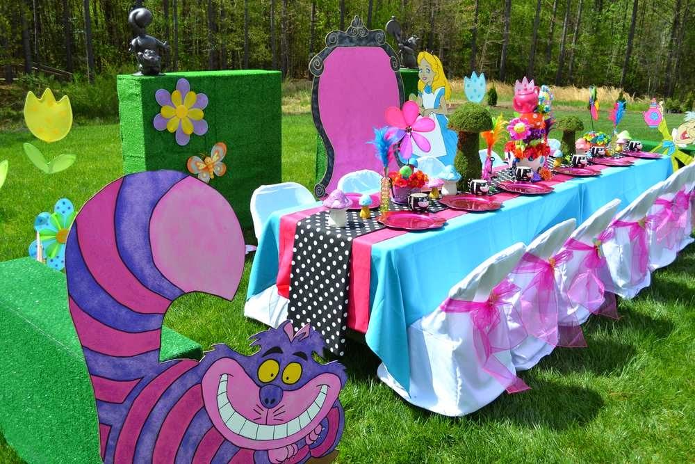 Decoração Festa Alice no País das Maravilhas