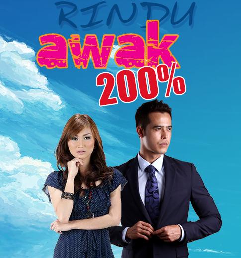 Rindu Awak 200% (2014) Episod 23