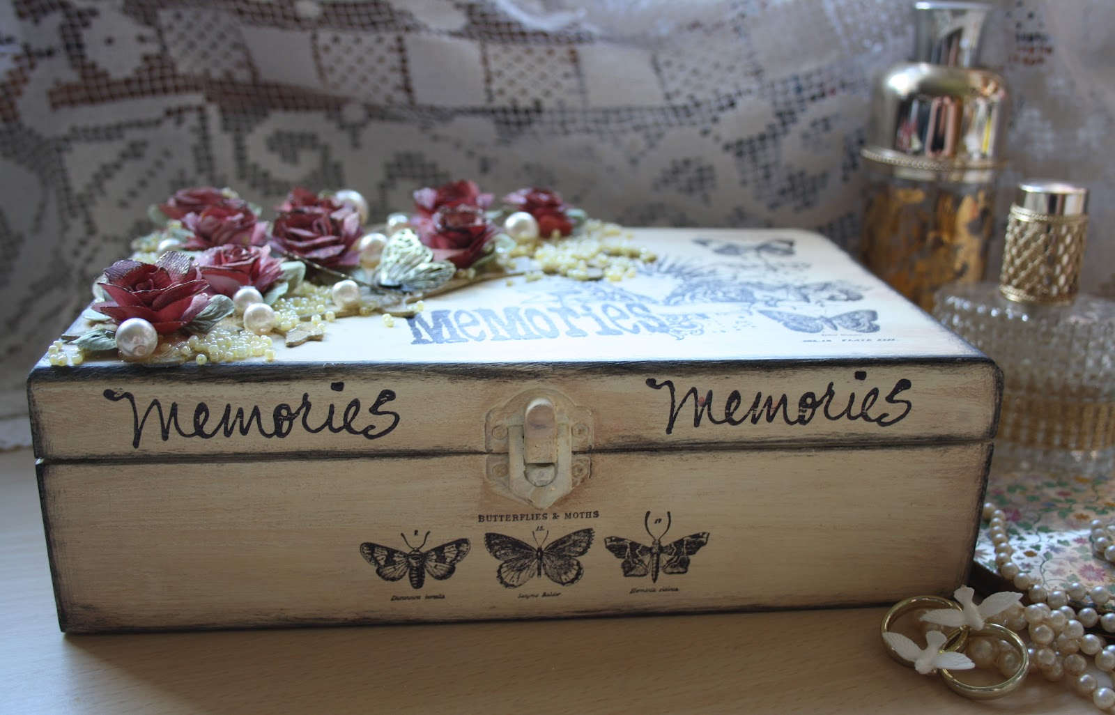 how to make a wooden cake box