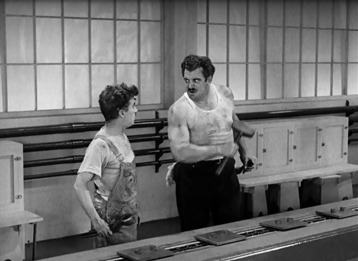 """a review of modern times a charlie chaplin film Odern times"""" is one of charlie chaplin's most recognized and beloved features,  centering once again on the exploits of the iconic, perfectly silhouetted """"little."""