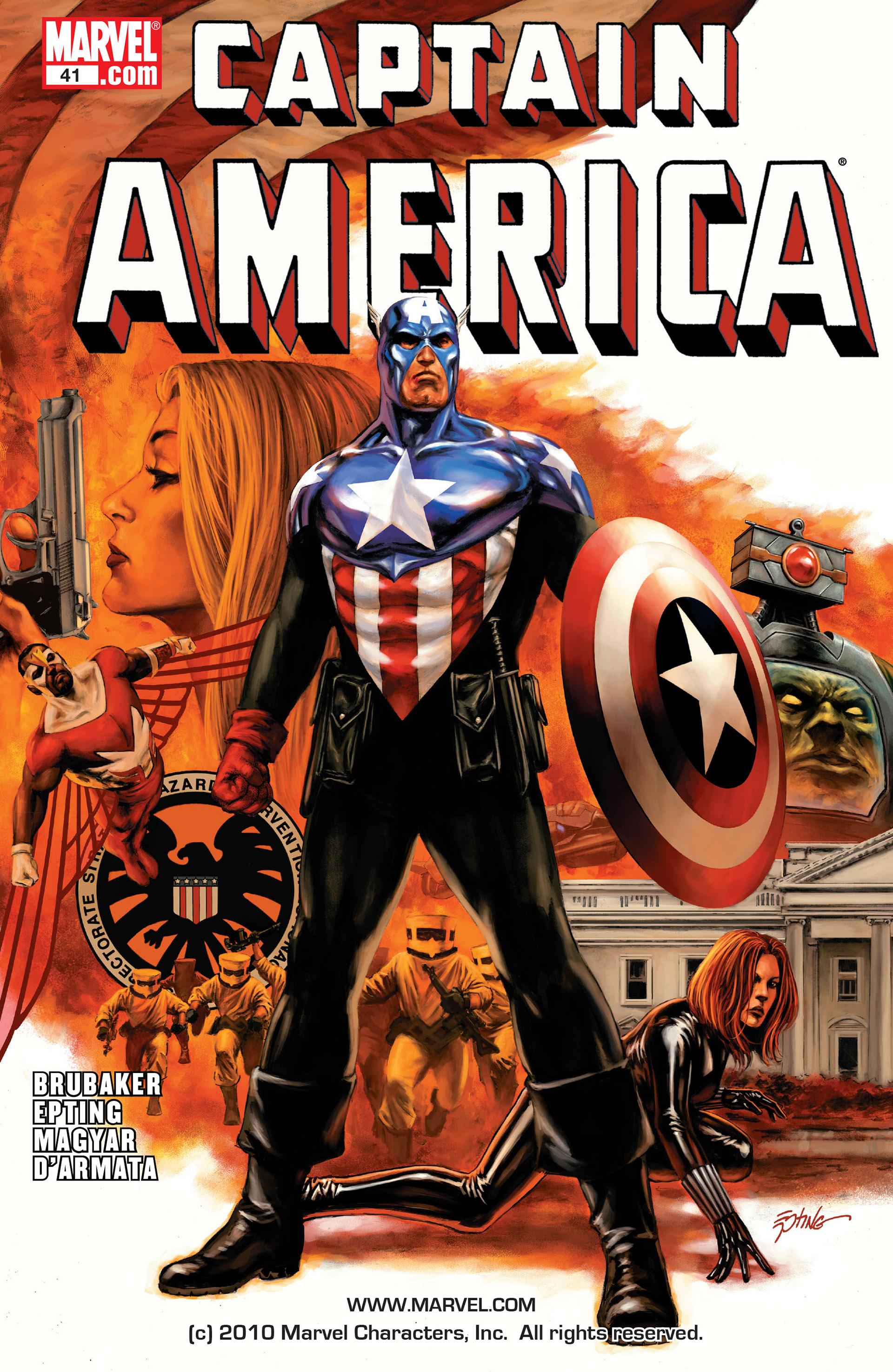 Captain America (2005) Issue #41 #41 - English 1