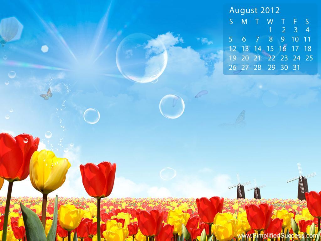 Calendar Wallpaper August : August desktop backgrounds wallpaper