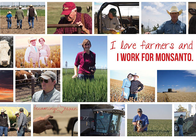 I love farmers and I work for Monsanto