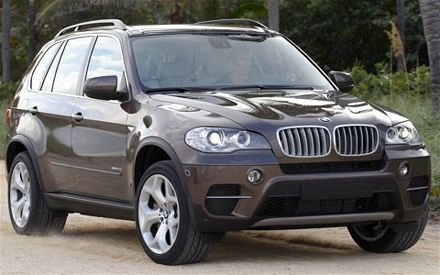 2011 Bmw x5 front view