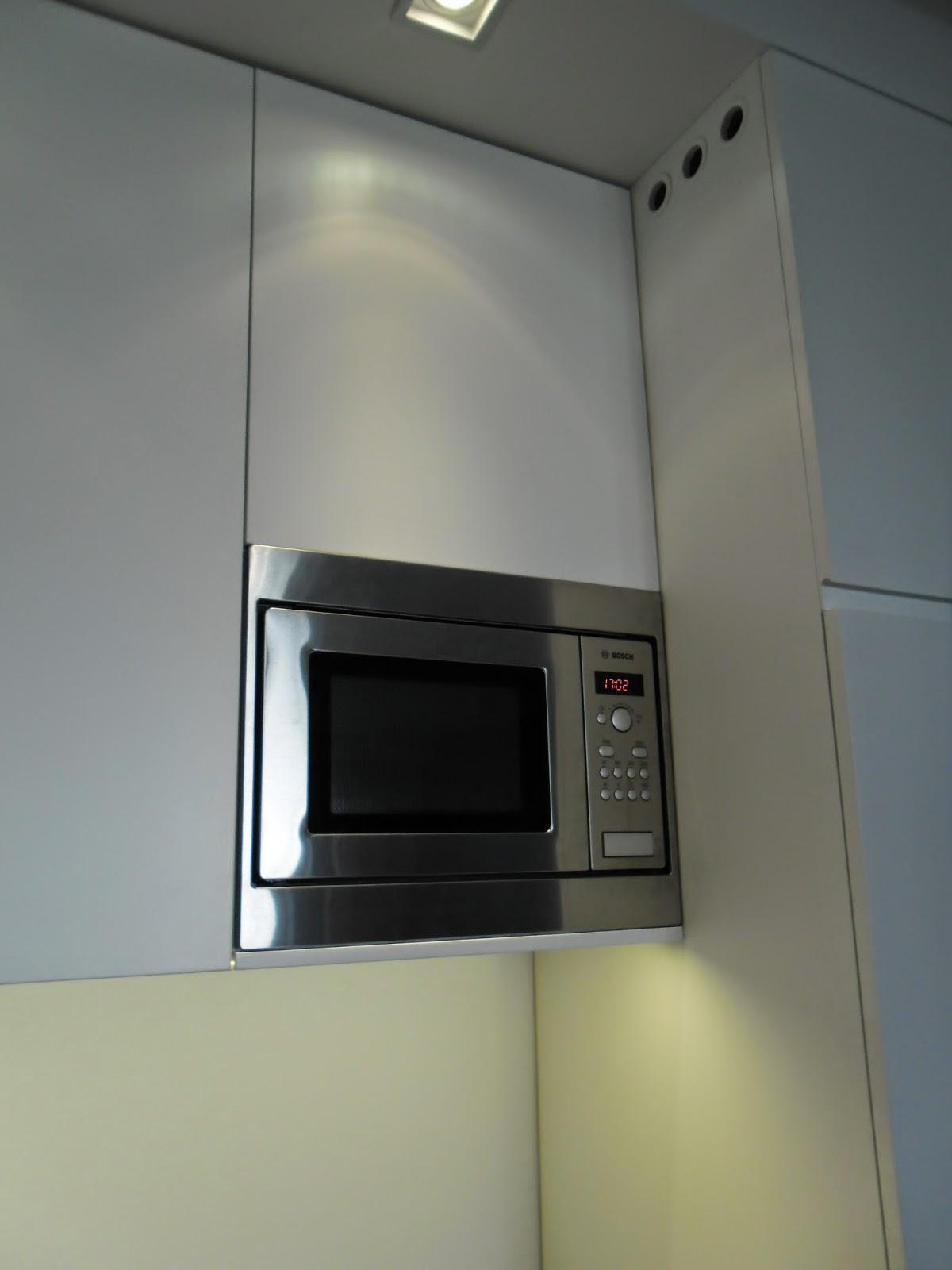 Kuchnia w bloku  biała, funkcjonalna i pojemna  Blog o projektowaniu mebli -> Kuchnia Mikrofalowa Do Zabudowy Siemens