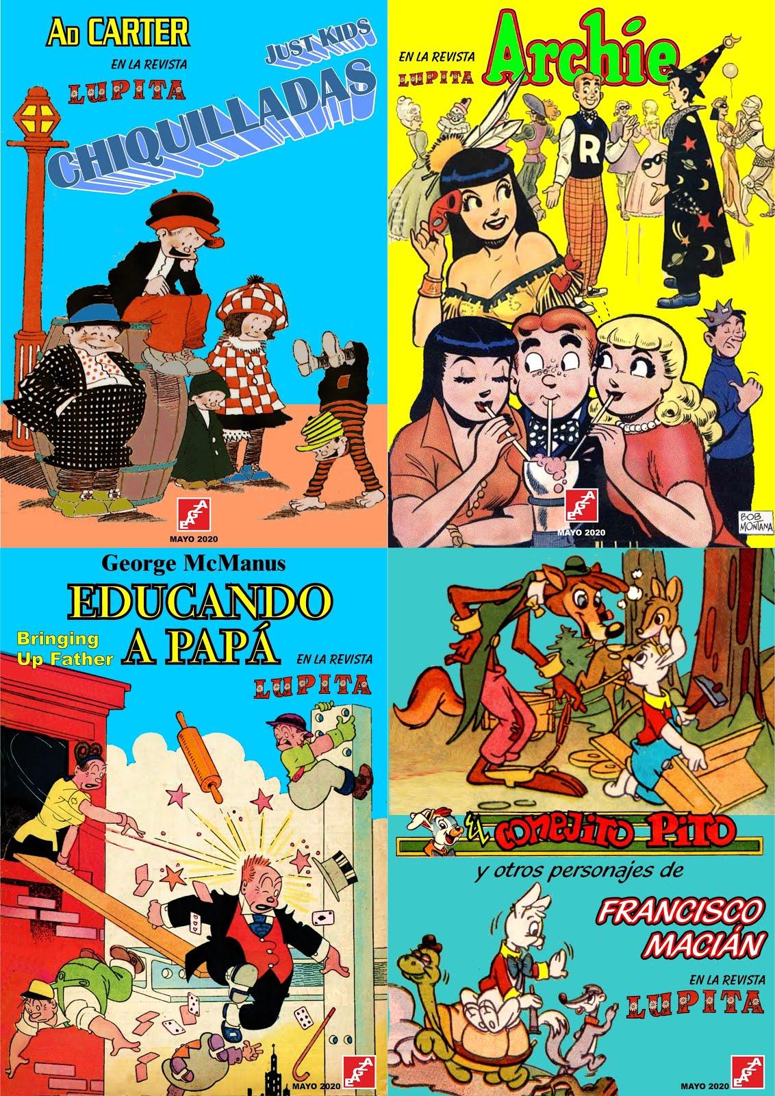 Compilatorios de la revista Lupita - EAGZA