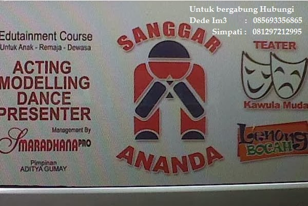 Mari bergabung di Sanggar Ananda & Teater Kawula Muda Pimp. Aditya Gumay