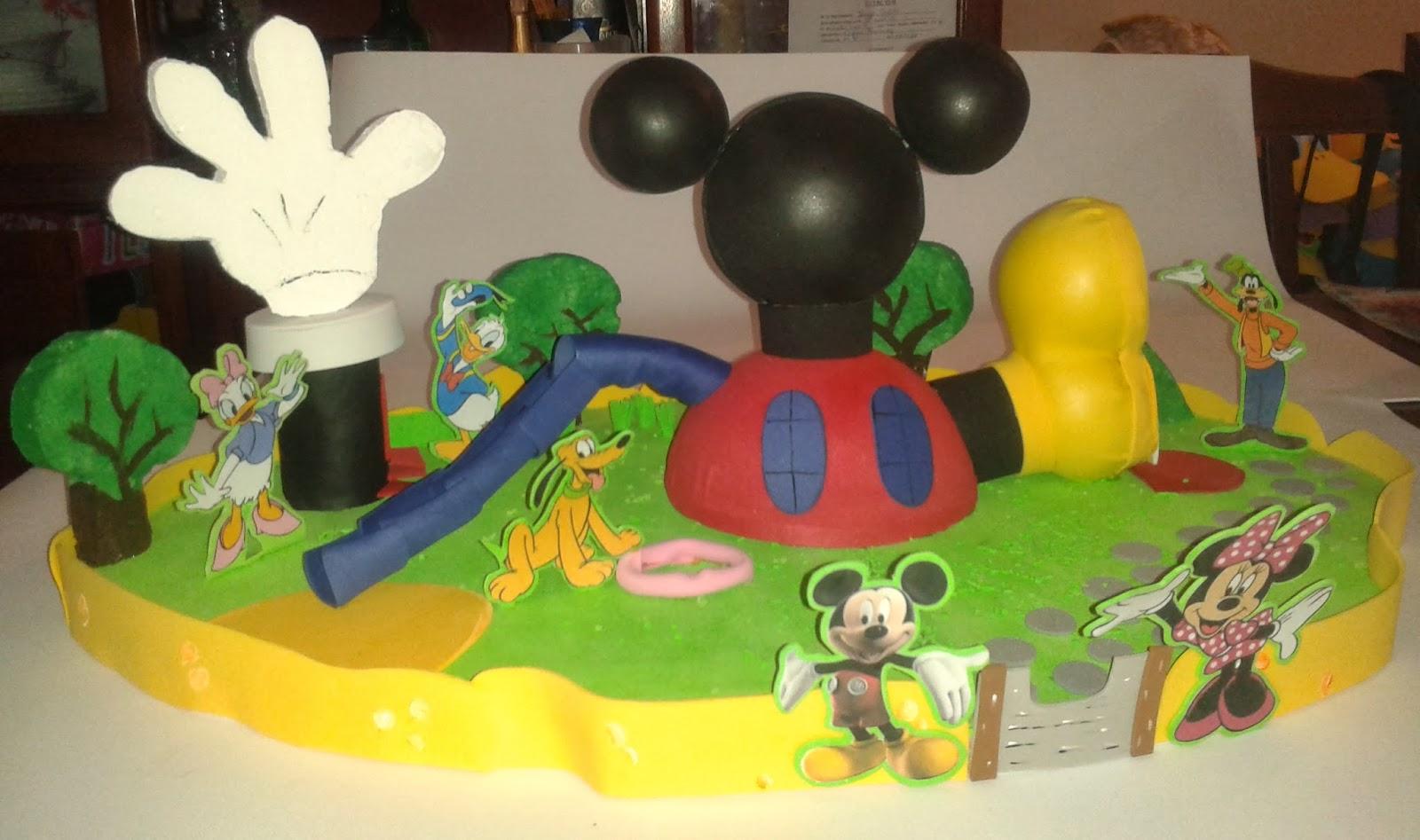 Manualidades TiendasOff: Chupetera de La Casa de Mickey Mouse