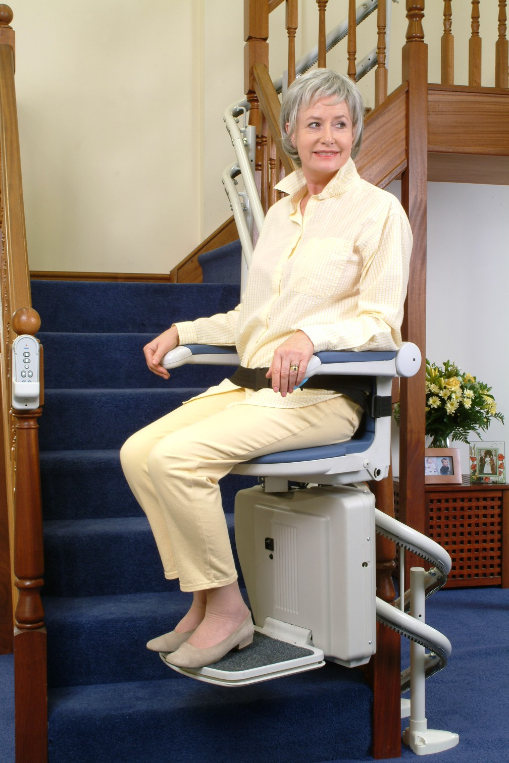 Stair Lifts Ameriglide A Budget Stair Lift