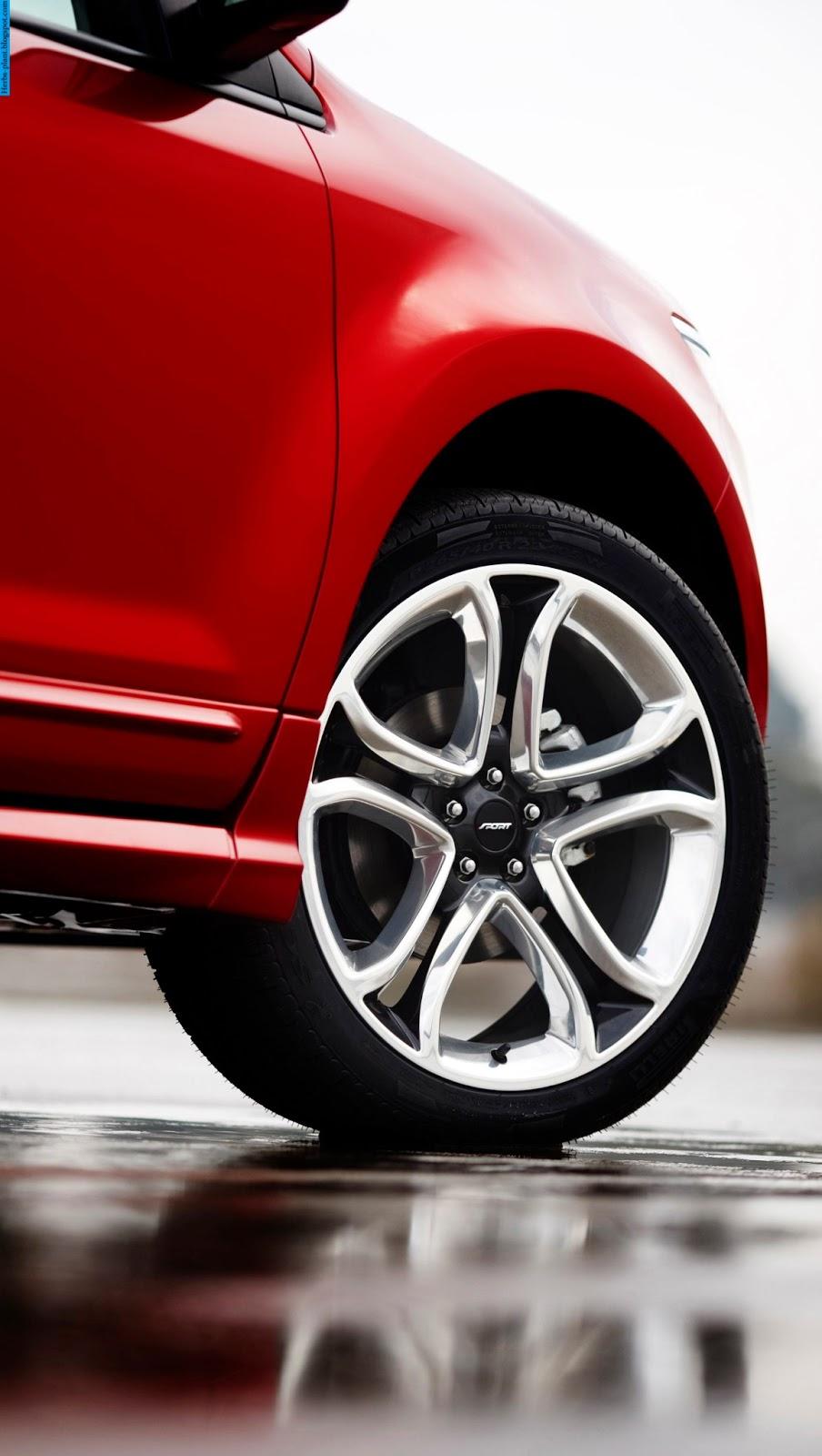 Ford edge car 2013 tyres/wheels - صور اطارات سيارة فورد ايدج 2013
