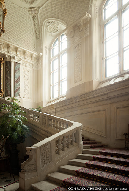 schody zamku