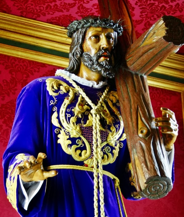 Nuestro Padre Jesús Nazareno. Cofradía del Dulce Nombre de Jesús Nazareno. León. Foto G. Márquez