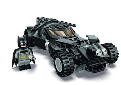 San Diego Comic-Con 2015 First Look: LEGO DC Super Heroes Batman v Superman: Dawn of Justice Batmobile Set
