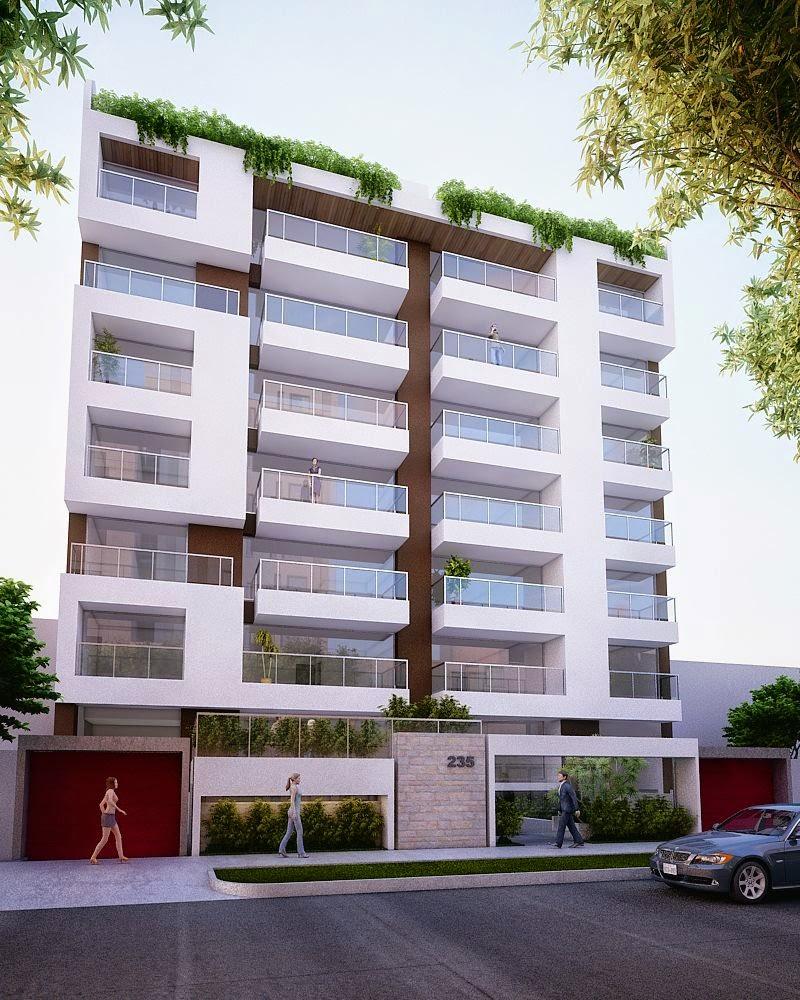 Fachadas de edificios de departamentos fachadas de casas for Fachadas de viviendas