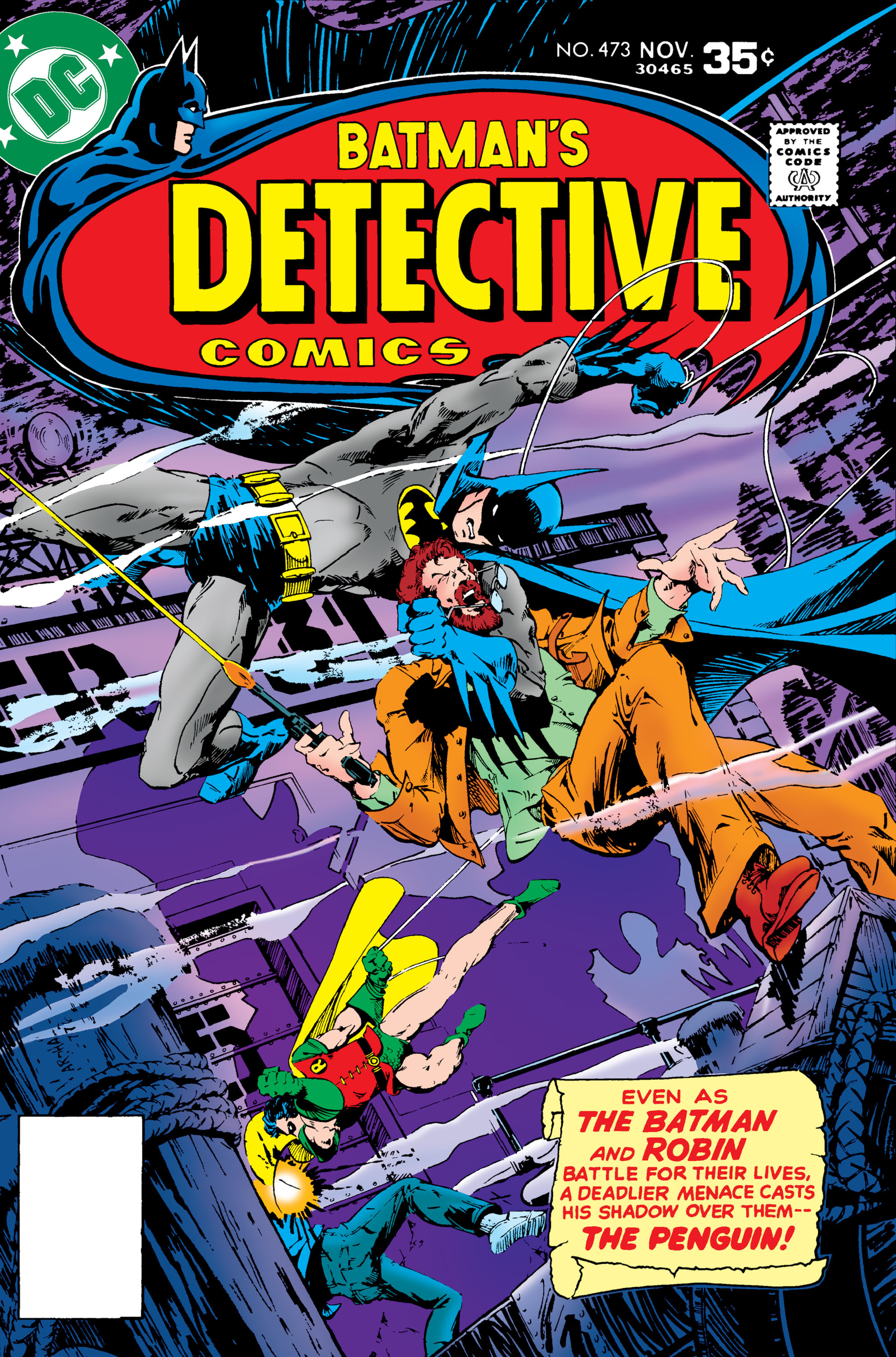 Detective Comics (1937) Issue #473 Page 1