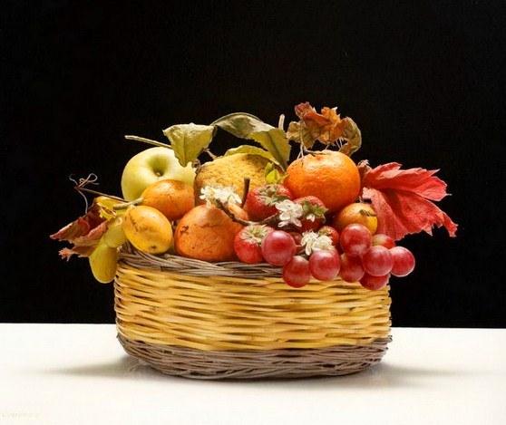 Fruteros en óleo | El club del arte, pinturas