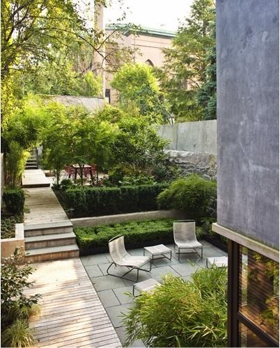 Courtyard garden brooklyn foras studio angela mckenzie for Garden design brooklyn