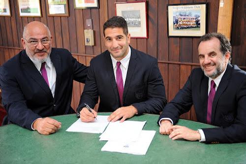 Juan Manuel Leguizamón firmó contrato con la UAR