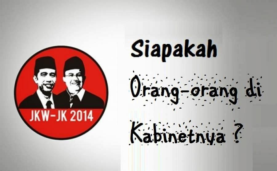 Ini Bocoran Kabinet Jokowi