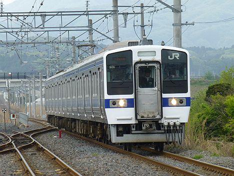 水戸線 415系1500番台