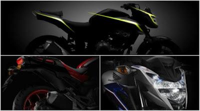 Jelang Peluncurannya, Honda Rilis Teaser Naked Bike CB500F