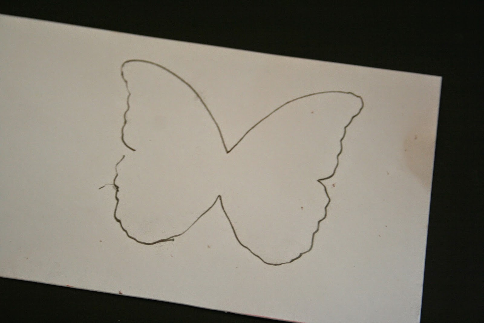 my go go life fabric butterfly shadow box tutorial
