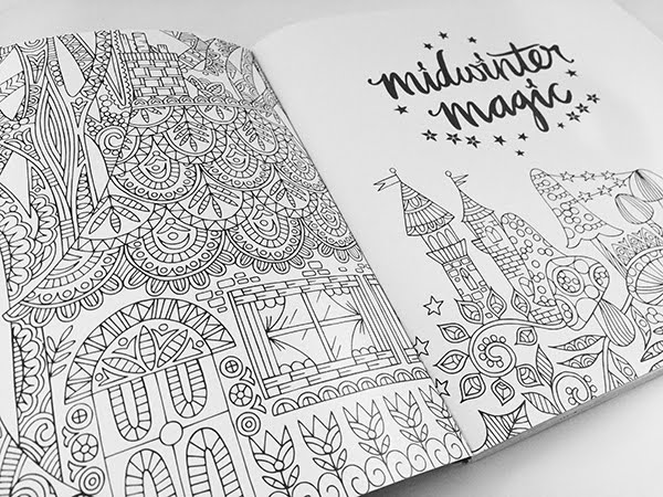 Of Becs Colouring Action Midwinter Magic Is Available Here On Amazon Now Get Sharpening Those Pencils Fans Theres A Whole Lot Gorgeous