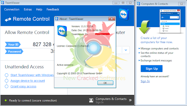 teamviewer 11 free download full version with crack
