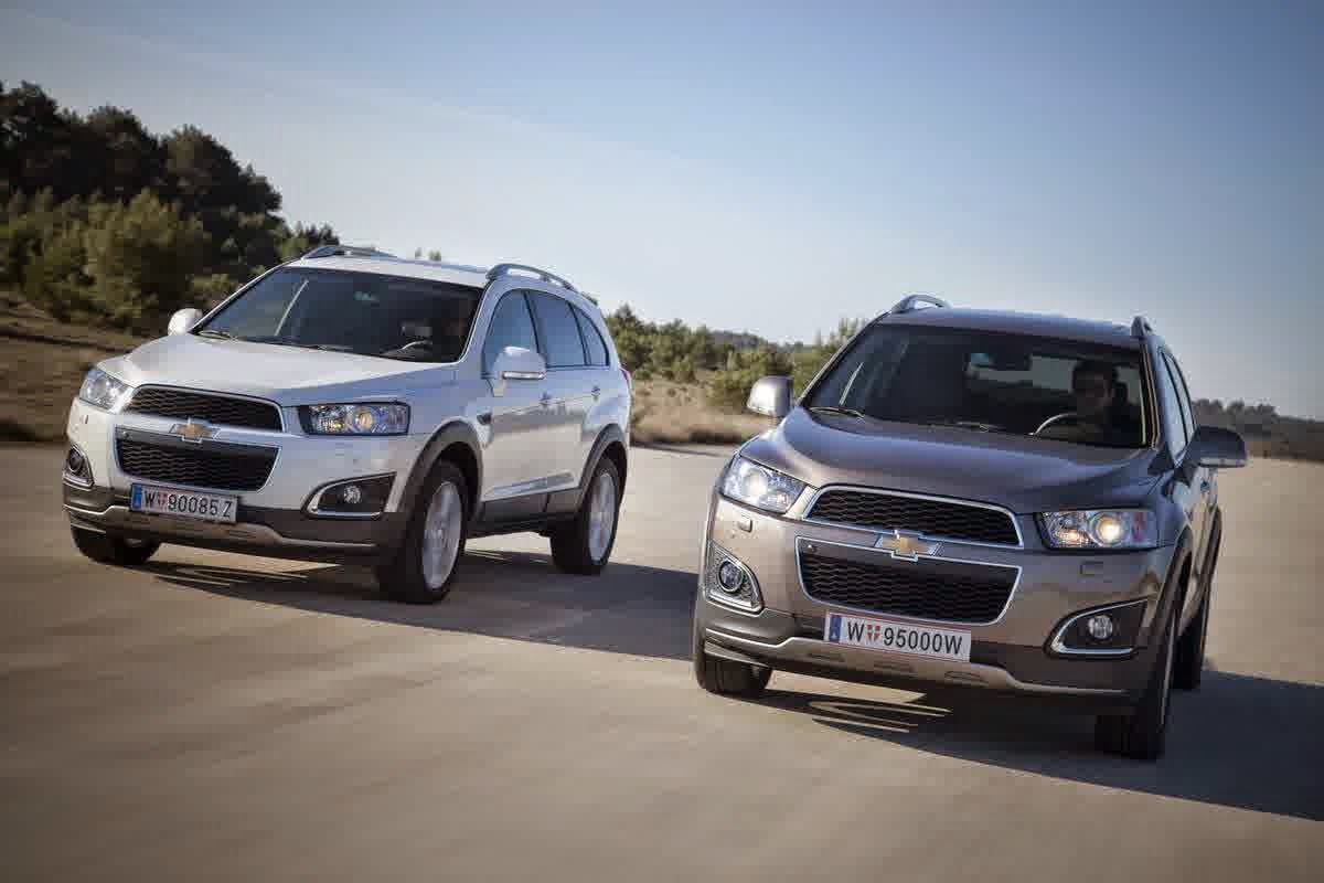 mitsubishi outlander vs chevrolet captiva 2014