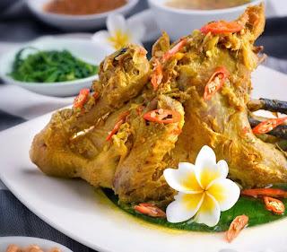 Ayam Betutu Bali Yang Sedap